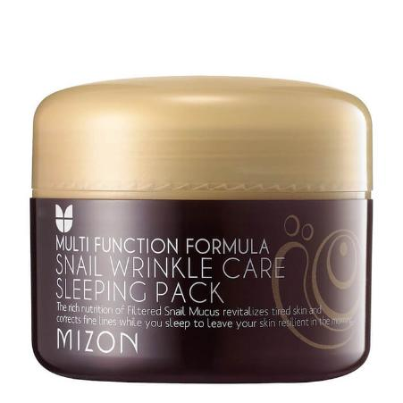 MIZON Snail Wrinkle Care Маска ночная для лица c экстрактом улитки Sleeping Pack
