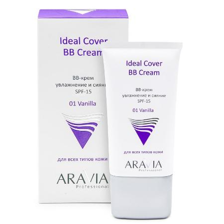 Aravia Professional BB-крем увлажняющий SPF-15 Ideal Cover BB-Cream, тон 01