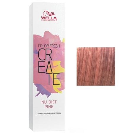 Wella Оттеночная краска для волос Пудровый розовый COLOR FRESH CREATE NuDist Pink