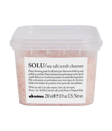 Davines Essential Haircare SOLU Скраб с морской солью Sea Salt Scrub Cleanser
