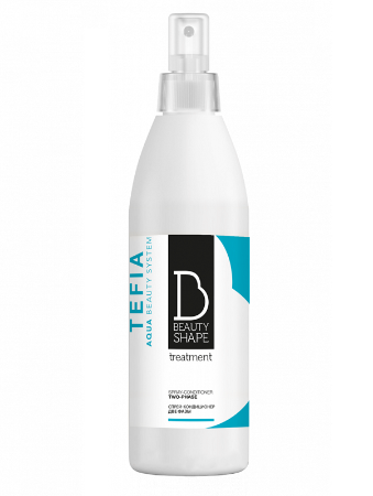 Tefia Beauty Shape Спрей-кондиционер для волос Две фазы Due Phasette Spray
